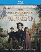 Miss Peregrines Home for Peculiar Children (Blu-ray + DVD + UltraViolet Combo)