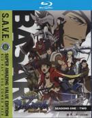 Sengoku Basara: Samurai Kings Seasons 1-2 (Blu-ray + DVD Combo)