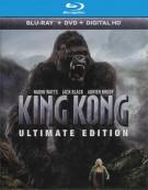King Kong: Ultimate Edition (Blu-ray + DVD + UltraViolet)