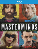 Masterminds (Blu-ray + DVD Combo)