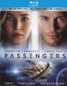 Passengers (4K Ultra HD + Blu-ray + UltraViolet)