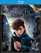 Fantastic Beasts and Where to Find Them (Blu-ray 3D + Blu-ray + UltraViolet)