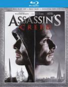 Assassins Creed (Blu-ray 3D + Blu-ray + UltraViolet)