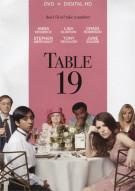 Table 19 (DVD + UltraViolet)