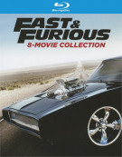 Fast & Furious 8-Movie Collection (Blu-ray + UltraViolet)