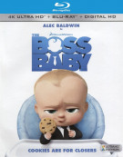 Boss Baby, The (4K Ultra HD + Blu-ray + UltraViolet)