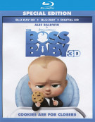 Boss Baby, The (Blu-ray 3D + Blu-ray + UltraViolet)