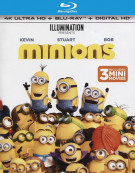 Minions (4K Ultra HD + Blu-ray + Digital HD)