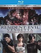 Resident Evil: Vendetta (4K Ultra HD + Blu-ray + UltraViolet)