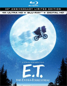 E.T. The Extra-Terrestrial: The 35th Anniversary Limited Edition (4K Ultra HD + Blu-ray + UltraViolet)