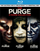 Purge, The: Three Movie Collection (4K Ultra HD + Blu-ray + UltraViolet)