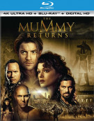 Mummy, The: Returns (4K Ultra HD + Blu-ray + UltraViolet)