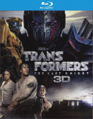Transformers: The Last Knight  (Blu-ray 3D + Blu-ray + UltraViolet)