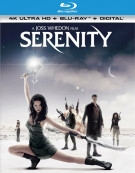 Serenity (4k Ultra HD + Blu-ray + UltraViolet)