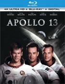 Apollo 13 (4k Ultra HD + Blu-ray + UltraViolet)