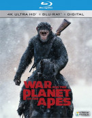 War For The Planet Of The Apes (4k Ultra HD + Blu-ray + UltraViolet)