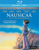 Nausicaa of the Valley of the Wind (Blu-ray + DVD Combo)