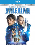 Valerian and the City of A Thousand Planets (4k Ultra HD + Blu-ray + UltraViolet)