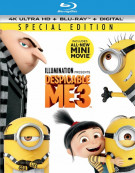 Despicable Me 3 (4k Ultra HD + Blu-ray + UltraViolet)