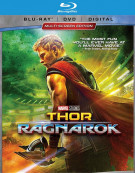 Thor: Ragnarok (Blu-ray + DVD + Digital HD)
