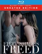 Fifty Shades Freed (Blu-ray + DVD + Digital HD)