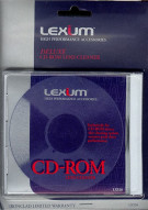 Deluxe CD-ROM Lens Cleaner-Lexium