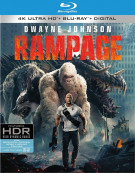 Rampage (4k Ultra HD + Blu-ray + UltraViolet)