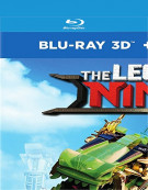 The Lego Ninjago Movie (Blu-Ray 3D + Blu-Ray + Digital)