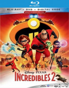 Incredibles 2 (Blu-ray/DVD/Digital)