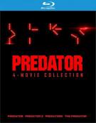 Predator 4 Film Collection (BR/4DISCS/4FILMS)