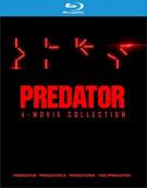Predator 4 Film Collection (4K-UHD/BR/8DISCS/4FILMS)