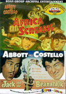 Abbott & Costello Double Feature: Africa Screams/ Jack And The Beanstalk (Roan)