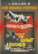 Killer B: A Bucket Of Blood/ Attack Of The Giant Leeches (Double Feature)