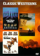 Classic Westerns: Rio Bravo/ The Searchers/ The Wild Bunch