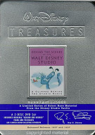 Behind The Scenes At The Walt Disney Studio: Walt Disney Treasures Limited Edition Tin