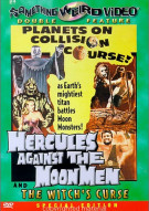 Hercules Against The Moon Men/ The Witchs Curse (Double Feature)