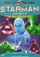 Starman 1: Attack From Space/ Evil Brain From Outer Space