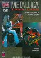 Bass Legendary Licks: Metallica - 1983-1988