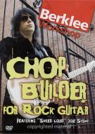 "Chop Builder For Rock Guitar: Featuring ""Shred Lord"" Joe Stump"