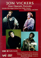 Jon Vickers: Four Operatic Portraits