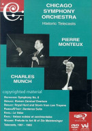 Chicago Symphony Orchestra: Pierre Monteux / Charles Munch Conduct