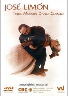 Jose Limon: Three Modern Dance Classics