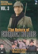 Return Of Sherlock Holmes, The: Volume 3