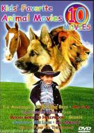 Kids Favorite Animal Movies: 10-Movie Set