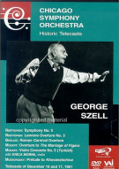 Chicago Symphony Orchestra: Historic Telecasts - George Szell Conducts