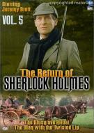 Return Of Sherlock Holmes, The: Volume 5