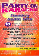 Party On Karaoke! Country Radio Hits