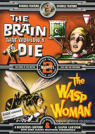 Brain That Wouldnt Die, The / Wasp Woman, The (Double Feature)