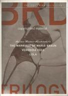 BRD Trilogy, The: Rainer Werner Fassbinder - The Criterion Collection