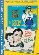 General, The / Steamboat Bill Jr. (Buster Keaton Double Feature)